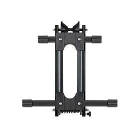 【B102】自転車スタンドスプリング式!オシャレなディスプレイや保管に最適!簡単にし込むだけで、Myバイク固定!2本のフレームで抜群の安定性☆L字型自転車の保管用床置きバイクスタンド!