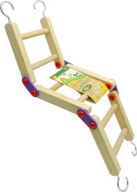 送料無料 | インコのおもちゃ ラダー ハシゴ型おもちゃ