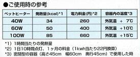 送料無料 | アサヒ ペットヒーター 40W カバー付き 旭光電機工業
