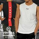 タンクトップ Tシャツ VENTURA 529 トレーニングウェア メンズ レディース 半袖 白 グレー ブラック 黒 ウェア トップ…