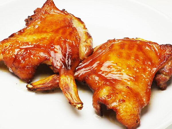 合鴨骨付きもも肉のローストチキン(roast chicken)