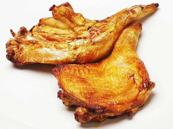 【送料無料】骨付きもも焼き(2本)とあっさりむね唐(500g) セット(roast chicken)【ローストチキン】【から揚げ】【冷蔵】