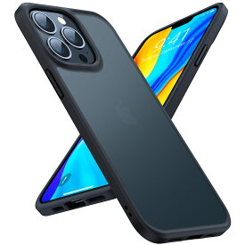 「公式」 iPhone 13Pro ケース iPhone13 ケース iPhone 12 ケース TORRAS 半透明 マット感 超高耐衝撃 米軍MIL規格取得 黄変なし 指紋防止 独自ボタン 13ProMax 13mini 12mini 12Pro iPhone12ProMax SE2/7/8 11 XR X Xs マットブラック Guardian