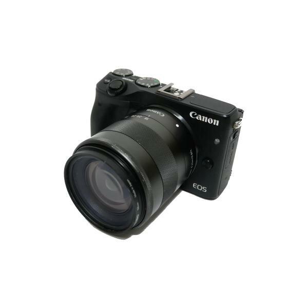【ミラーレスデジタルカメラ レンタル】ミラーレスデジタルカメラ キャノン EOS M3 ダブルズームキット レンタル SDカードプレゼント付き