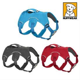 【ハーネス 中型犬 大型犬】【犬ハンドル付ハーネス】【犬補助ハーネス】ウエブマスターハーネス ラフウエア Ruffwear