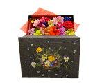 押し花で作った花織箱