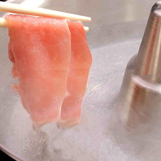 【愛媛県産】松山どり しゃぶしゃぶ 200g 冷凍焼きしゃぶ