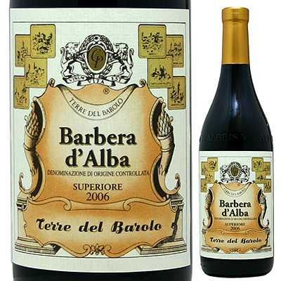 【6本〜送料無料】バルベーラ ダルバ スペリオーレ 2013 テッレ デル バローロ 750ml [赤]Barbera d'Alba Superiore Cantina Terre Del Barolo