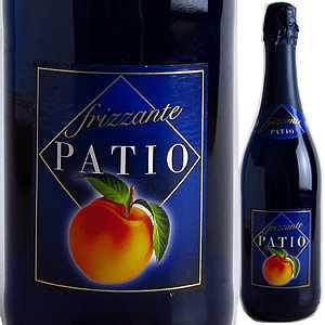 【6本〜送料無料】パティオ フリッツァンテ ペスカ NV ドネリ 750ml [甘口発泡白]Patio Frizzante Pesca Donelli