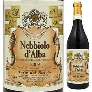 【6本〜送料無料】ネッビオーロ ダルバ 2013 テッレ デル バローロ 750ml [赤]Nebbiolo d'Alba Cantina Terre Del Barolo