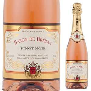 【6本〜送料無料】バロン ド ブルバン ブリュット ロゼ 2017 レ ヴァン ブルバン 750ml [発泡ロゼ]Baron De Breban Brut Rose Les Vins Breban