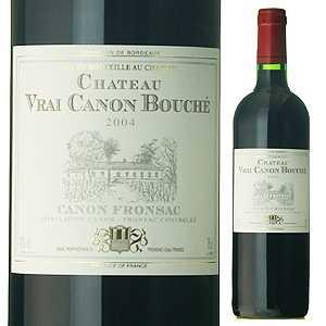 【6本〜送料無料】シャトー ヴレ カノン ブシェ 2009 750ml [赤]Chateau Vrai Canon Bouche