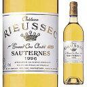 【6本〜送料無料】 [375ml]シャトー リューセック 2015 [ハーフボトル][甘口白]Chateau Rieussec Chateau Rieussec