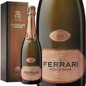 【6本〜送料無料】[ギフトボックス入り]ペルレ ロゼ ミレジム 2006 フェッラーリ 750ml [発泡ロゼ]Perle Rose Millesime Ferrari