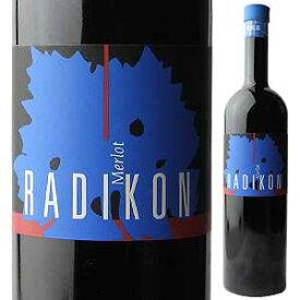 【6本〜送料無料】メルロー 2004 ラディコン 1000ml [赤]Merlot Radikon [オールドヴィンテージ ][自然派][蔵出し]
