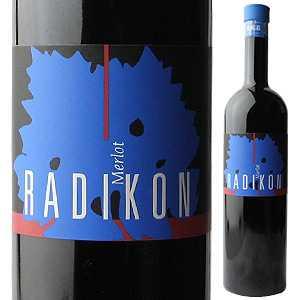 【6本〜送料無料】メルロー 2001 ラディコン 500ml [赤]Merlot Radikon [自然派][無添加]