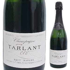 【6本〜送料無料】シャンパーニュ ゼロ ブリュット ナチュレ NV タルラン 750ml [発泡白]Champagne Zero Brut Nature Tarlant