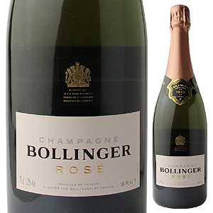 【6本〜送料無料】 [375ml]シャンパーニュ ボランジェ ロゼ NV [ハーフボトル][発泡ロゼ]Champagne Bollinger Rose Bollinger