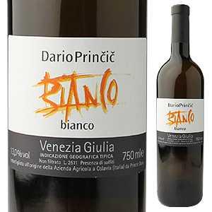 【6本〜送料無料】ヴィーノ ビアンコ ヴェネツィア ジューリア(2015年収穫) 2015 ダリオ プリンチッチ 750ml [白]Vino Bianco Venezia Giulia Dario Princic [自然派]