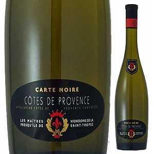 【6本〜送料無料】カルトノワール コート ド プロヴァンス ブラン 2014 メートル ヴィニロン 750ml [白]Carte Noire Cotes De Provence Blanc Les Maitres Vignerons