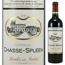 【6本〜送料無料】[3月5日(金)以降発送予定]シャトー シャス スプリーン 2004 750ml [赤]Chateau Chasse-Spleen