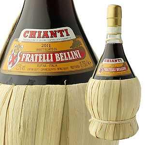 【6本〜送料無料】キャンティ フィアスコ 2015 カンティーナ ベリーニ 750ml [赤]Bellini Chianti Fiasco Cantina Bellini