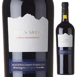 【6本〜送料無料】モンテプルチアーノ ダブルッツォ 2015 グラン サッソ 750ml [赤]Montepulciano d'Abruzzo Gran Sasso