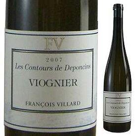 【6本〜送料無料】コントゥール ドポンサン ヴァン ド ペイ デ コリンヌ ローダニエンヌ 2017 ドメーヌ フランソワ ヴィラール 750ml [白]Les Contours De Deponcins Viognier Vin De Pays Des Collines Rhodaniennes Domaine Fran ois Villard