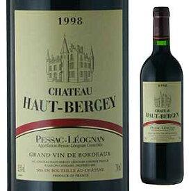 【6本〜送料無料】シャトー オー ベルジェイ 1997 750ml [赤]Chateau Haut Bergey