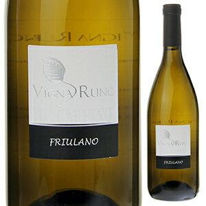 【6本〜送料無料】ヴィーニャ ルンク フリウラーノ 2013 イル カルピノ 750ml [白]Vigna Runc Friulano Il Carpino