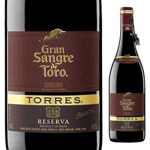 【6本〜送料無料】グラン サングレ デ トロ 2013 トーレス 750ml [赤]Gran Sangre De Toro Torres