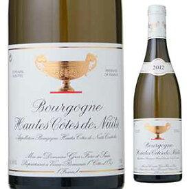 【6本〜送料無料】ブルゴーニュ オート コート ド ニュイ ブラン 2016 ドメーヌ グロ フレール エ スール 750ml [白]Bourgogne Hautes Cotes De Nuits Blanc Domaine Gros Frere Et Soeur