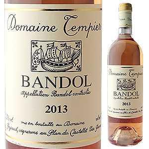 【6本〜送料無料】バンドールロゼ 2015 ドメーヌ タンピエ 750ml [ロゼ]Bandol Rose Domaine Tempier [オーガニック]