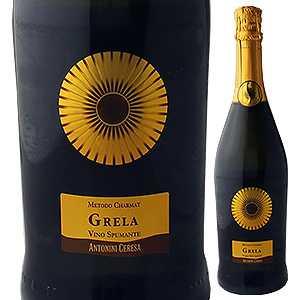 【6本〜送料無料】グレラ スプマンテ エクストラ ドライ NV アントニーニ チェレーザ 750ml [発泡白]Grela Spumante Extra Dry Antonini Ceresa