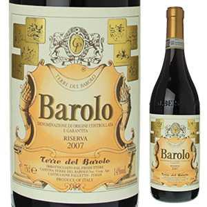 【6本〜送料無料】バローロ リゼルヴァ 2008 テッレ デル バローロ 750ml [赤]Barolo Riserva Cantina Terre Del Barolo
