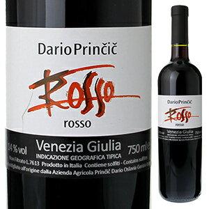 【6本〜送料無料】ヴィーノ ロッソ ヴェネツィア ジューリア 2012 ダリオ プリンチッチ 750ml [赤]Vino Rosso Venezia Giulia Dario Princic