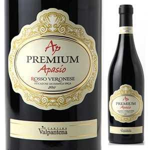 【6本〜送料無料】プレミアム アパジオ ロッソ ヴェロネーゼ 2011 カンティーナ ヴァルパンテーナ 750ml [赤]Premium Apasio Rosso Veronese Cantina Valpantena