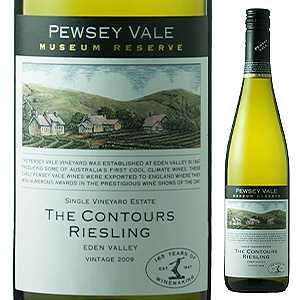 【6本〜送料無料】ザ コンツアーズ リースリング 2012 ピュージー ヴェイル 750ml [白]The Contours Riesling Pewsey Vale [スクリューキャップ]
