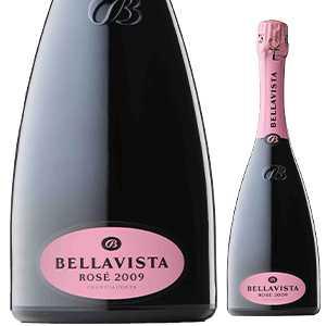【6本〜送料無料】[ギフトボックス入り]フランチャコルタ ロゼ 2010 ベラヴィスタ 750ml [発泡ロゼ]Franciacorta Rose Bellavista [ベッラヴィスタ]