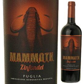 【6本〜送料無料】マンモス ジンファンデル 2019 マーレ マンニュム 750ml [赤]Mammoth Zinfandel Mare Magnum [サクラアワード2019 ゴールド]