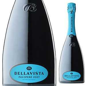 【6本〜送料無料】フランチャコルタ グラン キュヴェ パス オペレ 2011 ベラヴィスタ 750ml [発泡白]Franciacorta Gran Cuvee Pas Opere Bellavista