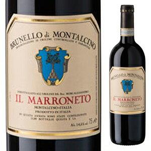 【6本〜送料無料】ブルネッロ ディ モンタルチーノ 2012 イル マッロネート 750ml [赤]Brunello di Montalcino Il Marroneto [ブルネロ]