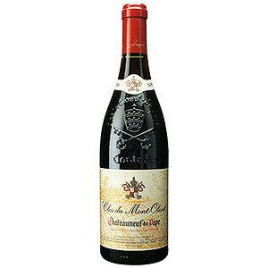 【6本〜送料無料】シャトーヌフ デュ パプ 2006 クロ デュ モン オリヴェ 750ml [赤]Chateauneuf Du Pape Clos Du Mont Olivet