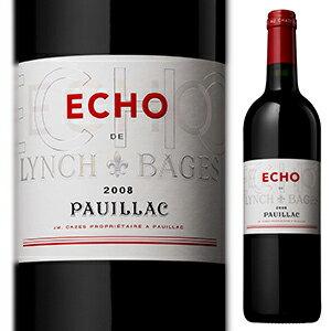 【6本〜送料無料】エコー ド ランシュ バージュ 2013 (シャトー ランシュ バージュセカンドワイン) 750ml [赤]Echo De Lynch Bages