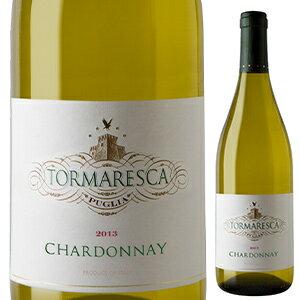【6本〜送料無料】トルマレスカ シャルドネ 2017 トルマレスカ (アンティノリ) 750ml [白]Tormaresca Chardonnay Tormaresca