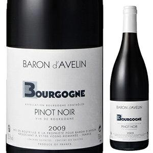 【6本〜送料無料】ブルゴーニュ ルージュ 2015 バロン ダヴラン 750ml [赤]Bourgogne Rouge Baron Davelin
