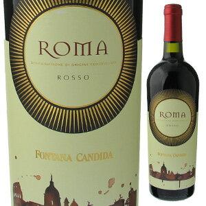 【6本〜送料無料】ローマ ロッソ 2015 フォンタナ カンディダ 750ml [赤]Roma Rosso Fontana Candida