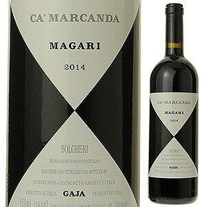 【6本〜送料無料】マガーリ 2014 カ マルカンダ ガヤ 750ml [赤]Magari Ca'Marcanda GAJA