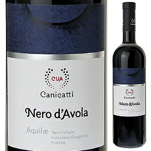 【6本〜送料無料】アクイレ ネロ ダーヴォラ 2015 カニカッティ 750ml [赤]Aquilae Nero d'Avola CVA Canicatti