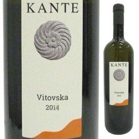 【6本〜送料無料】ヴィトヴスカ 2015 カンテ 750ml [白]Vitovska Kante [自然派]